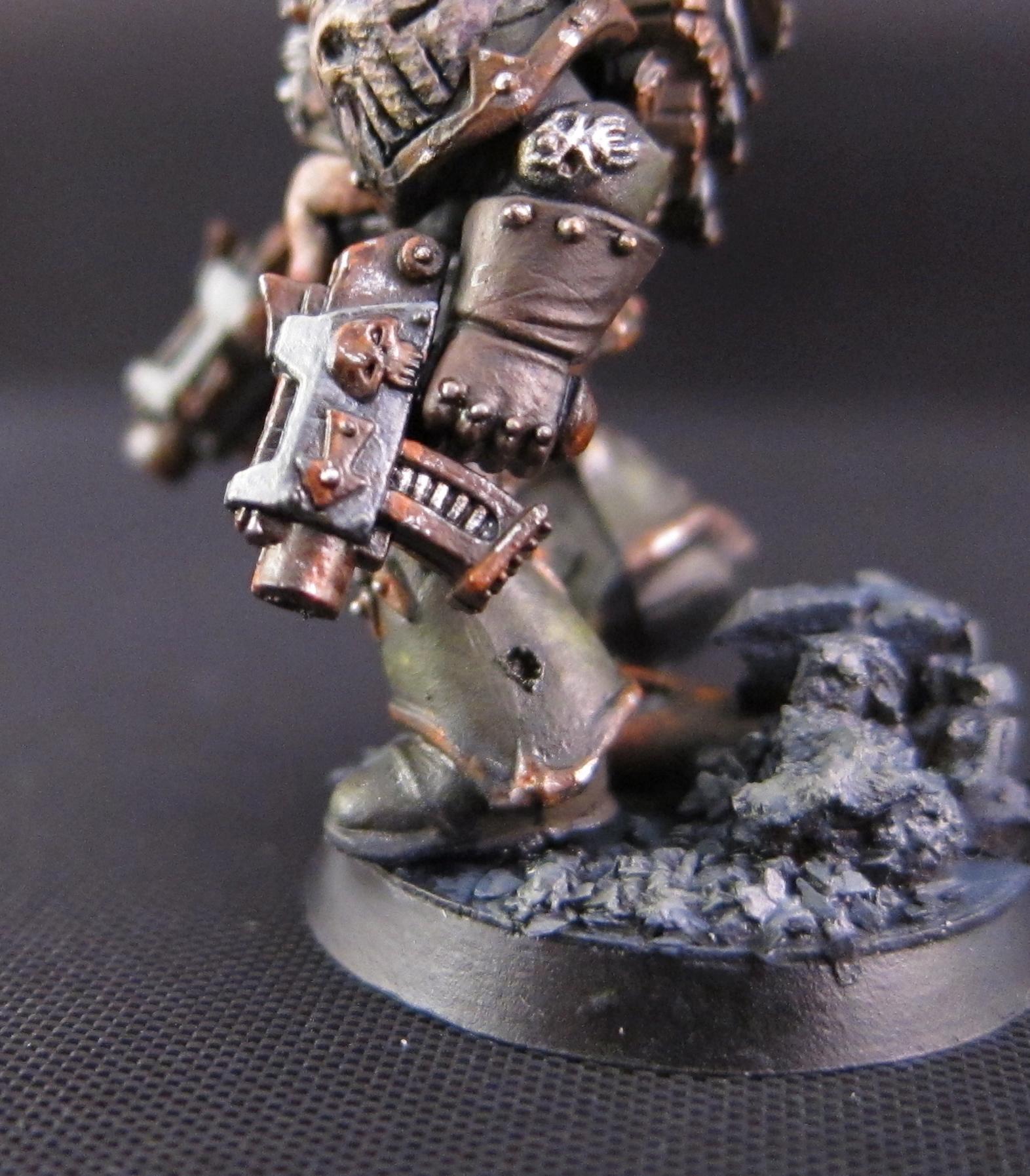 Death Guard, Greenstuff, Nurgle, Object Source Lighting, Plague Marines