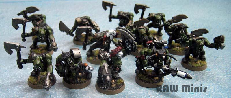 Boy, Nob, Orks, Painting, Rokkit Launchas, Sluggaboyz, Warhammer 40,000