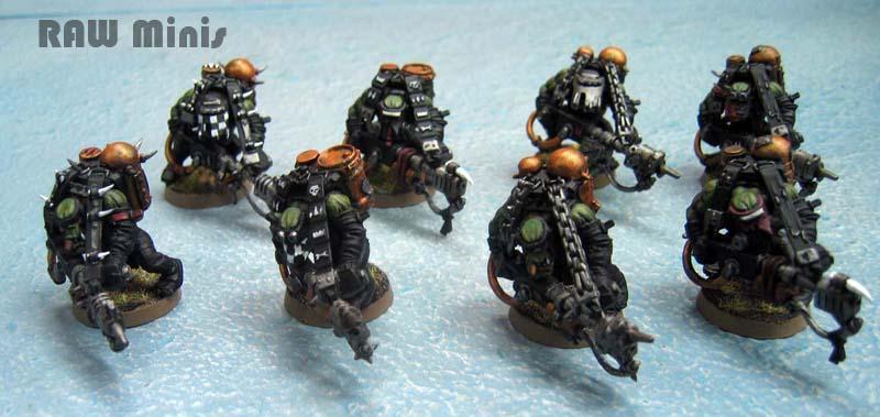 Burna Boyz, Burnas, Orks, Painting, Warhammer 40,000