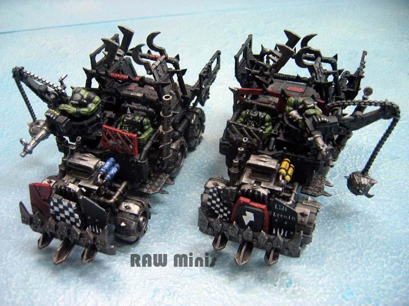 Orks, Painting, Trukk, Warhammer 40,000