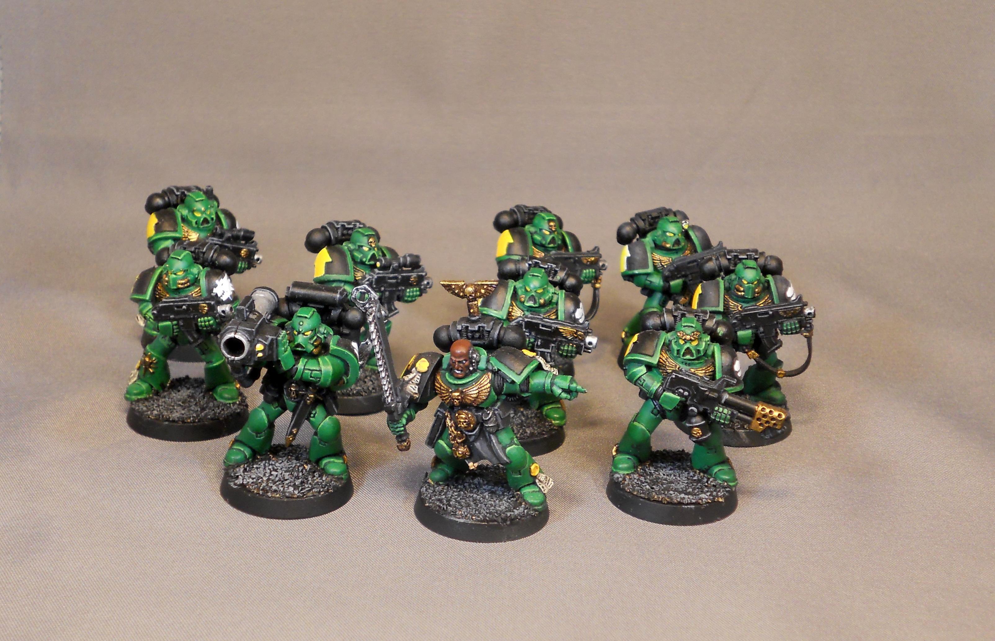 Assault On Black Reach, Salamanders, Space Marines, Tactical