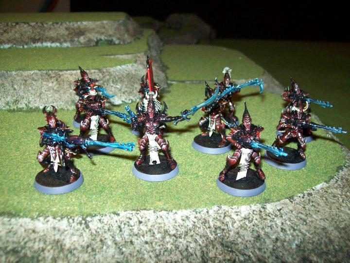 Dark, Eldar, Warriors