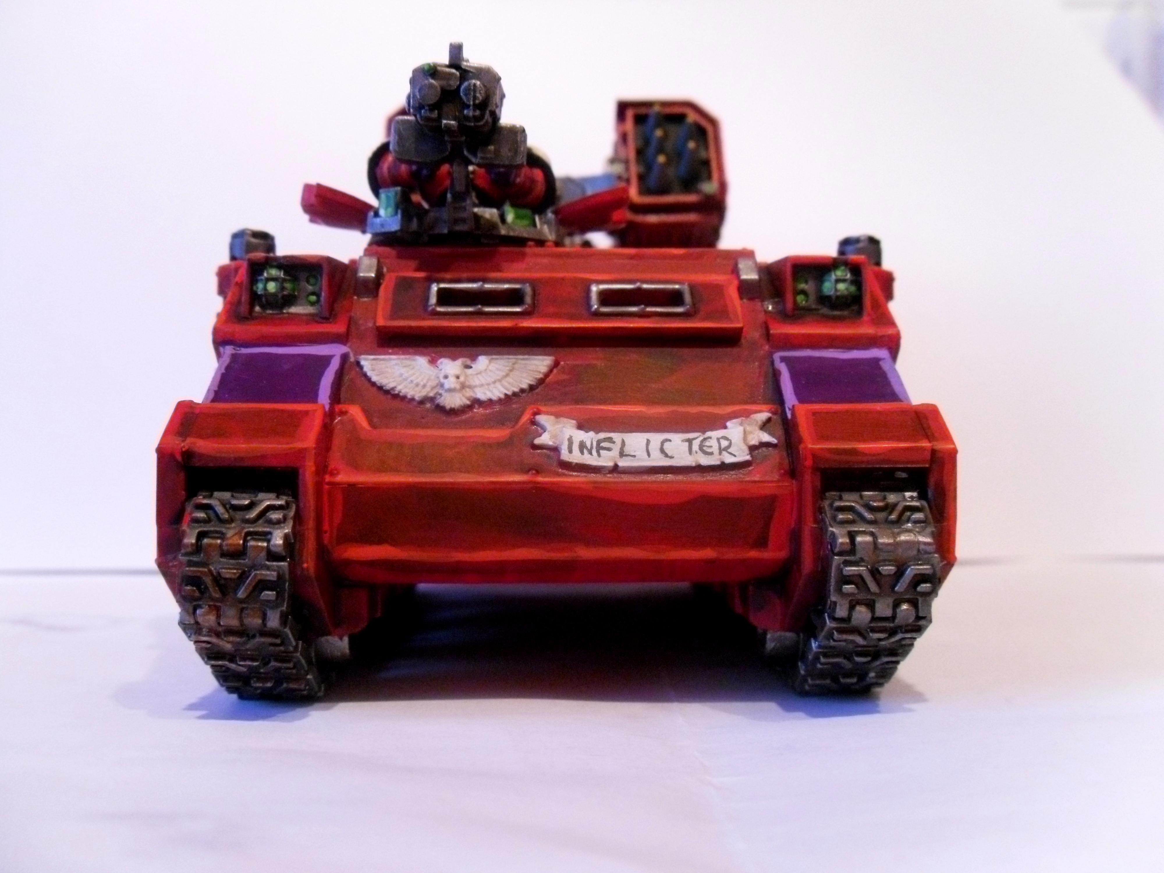 Red, Skull, Space Marines, Tank, Whirlwind