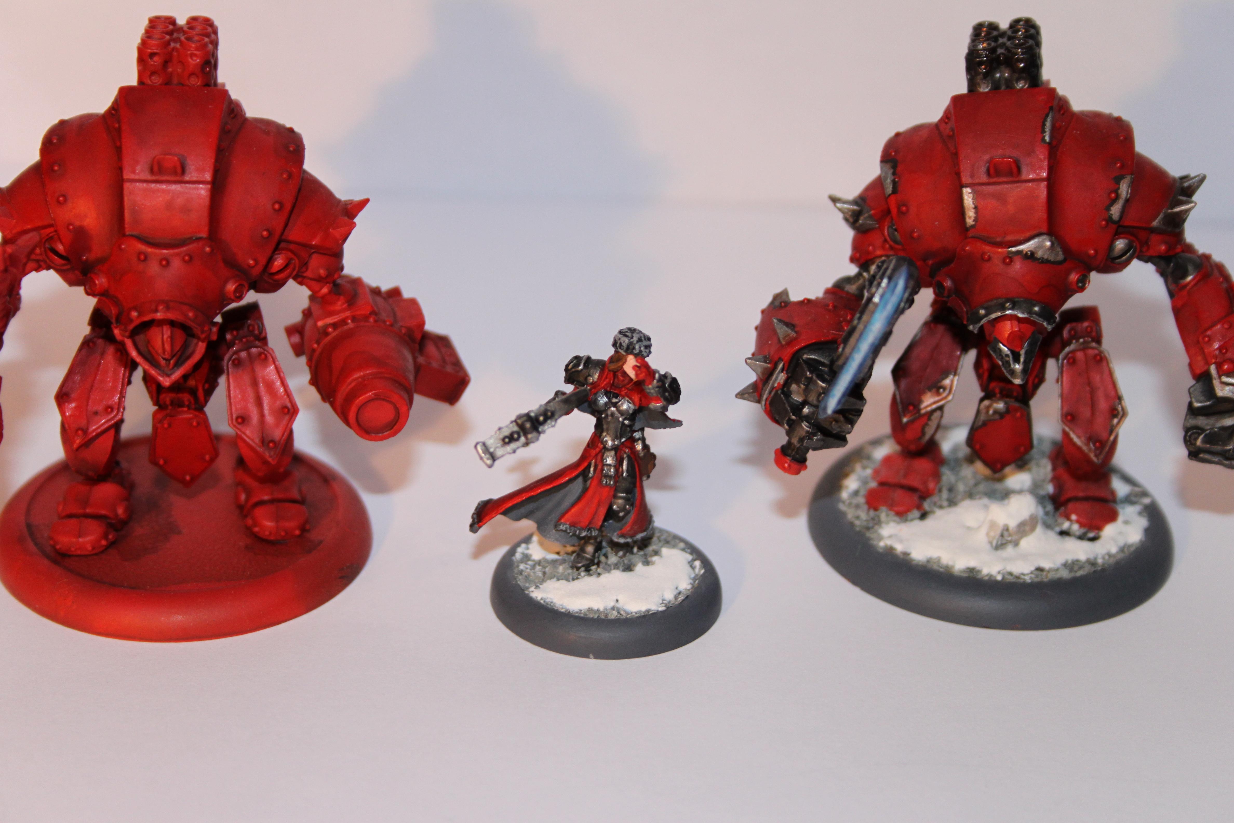 Khador, Red, Snow, Sorscha, Warmachine