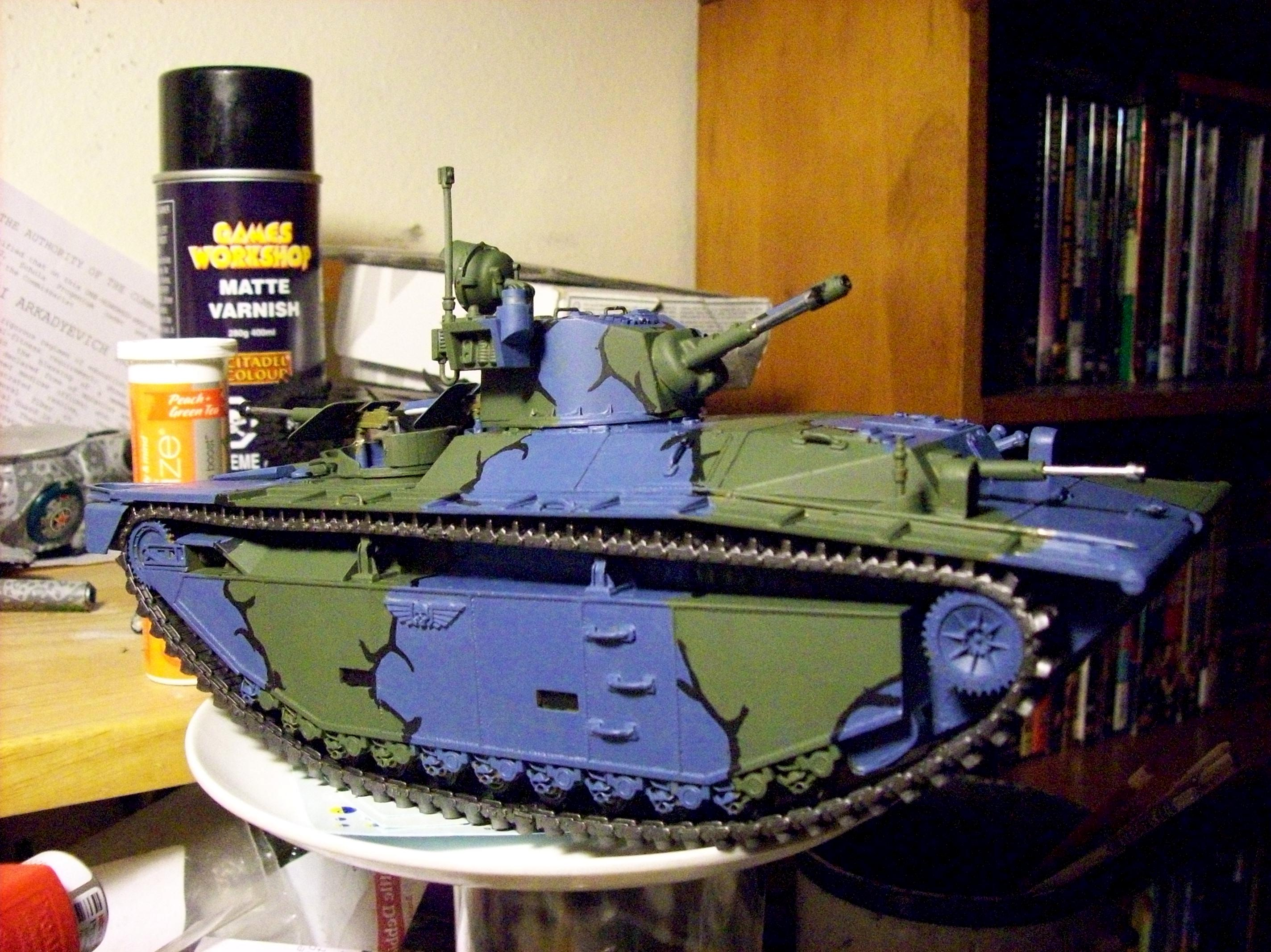 Camouflage, Conversion, Gator, Imperial Guard, Lvt, Tank