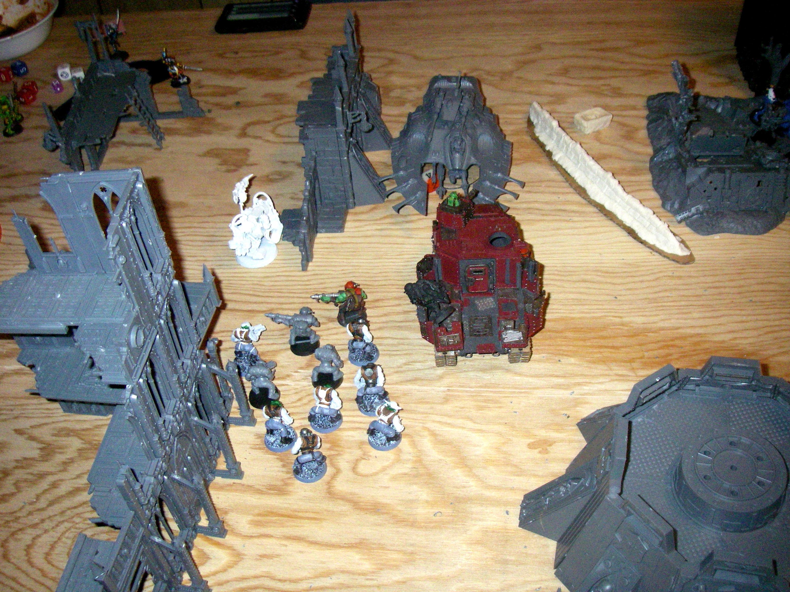 Ghaz took out wraithlord