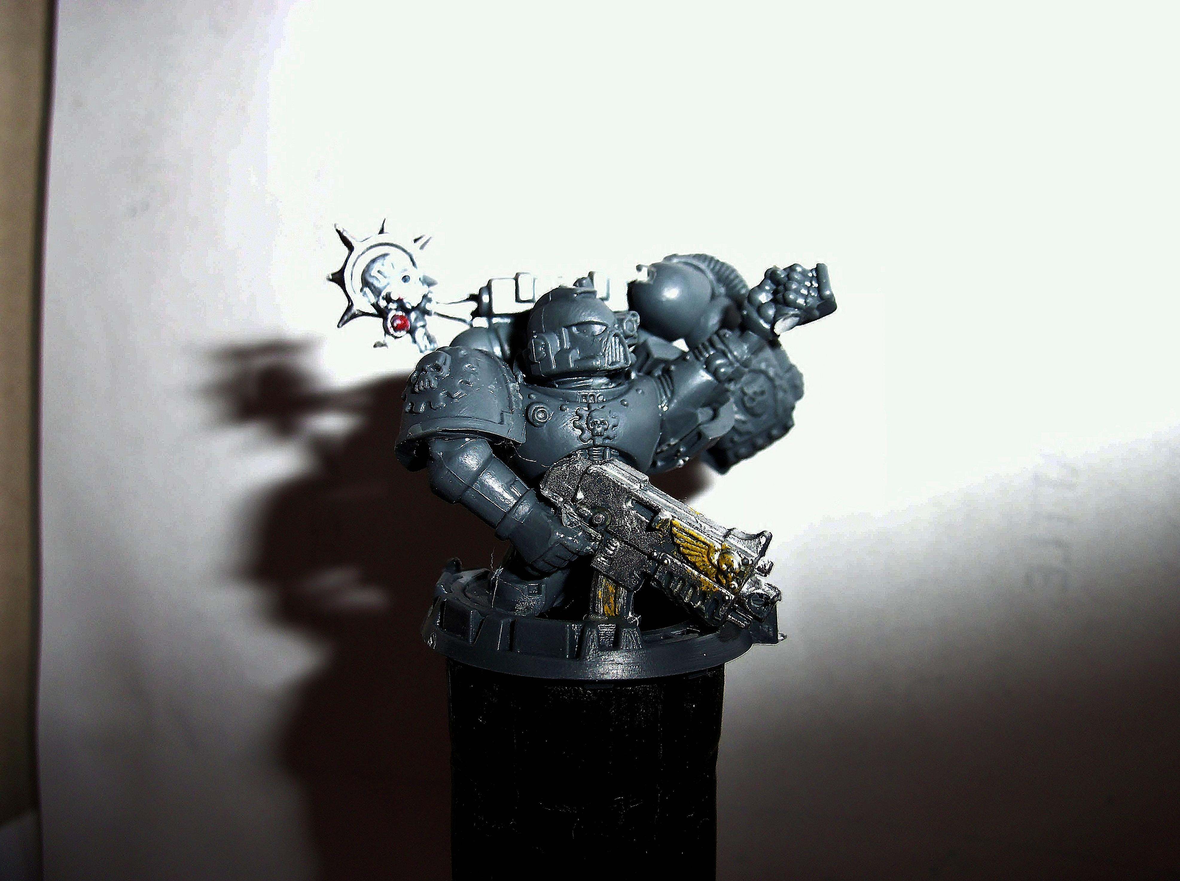 Techmarine Statue Pose