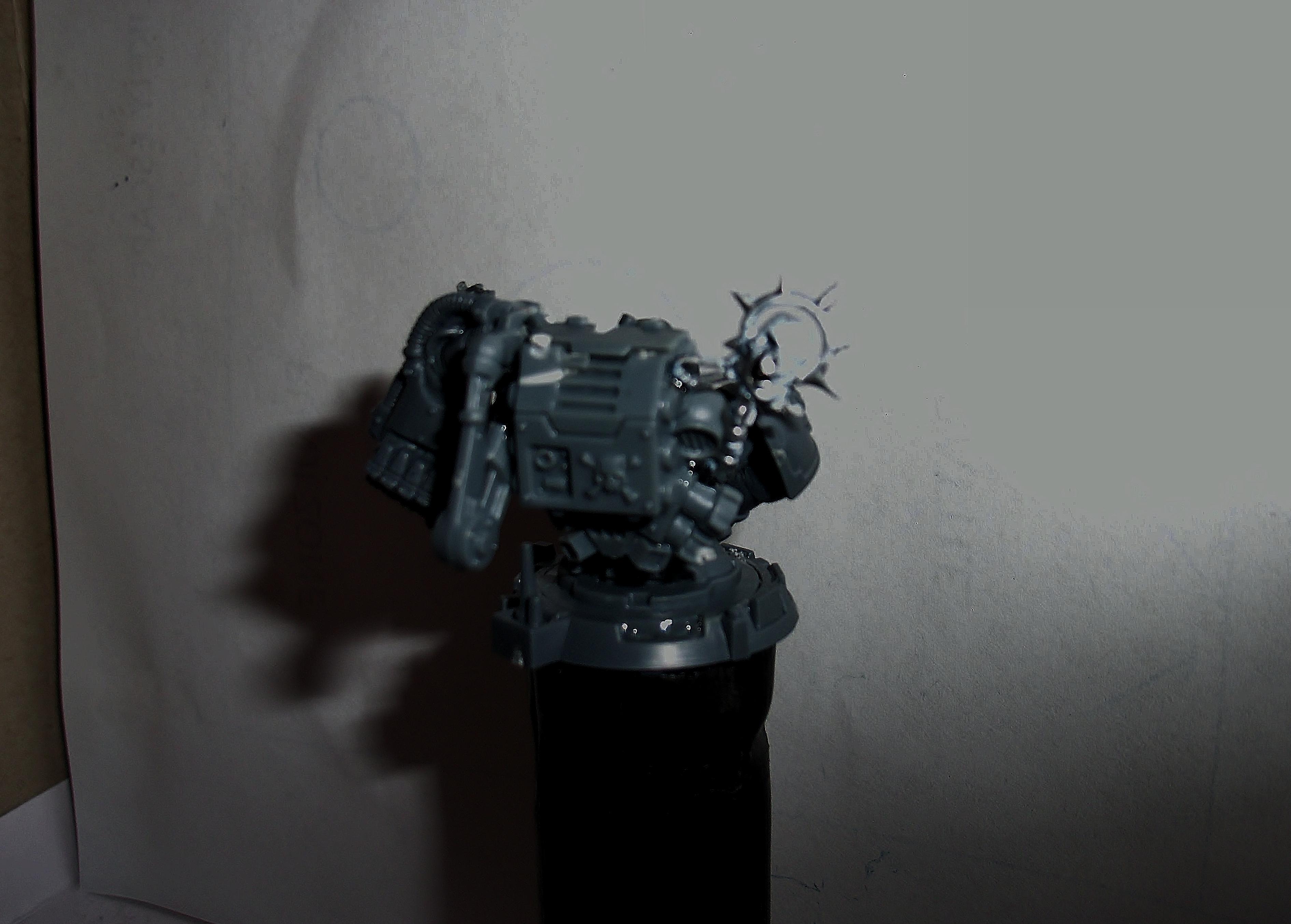 Techmarine Statue Rear