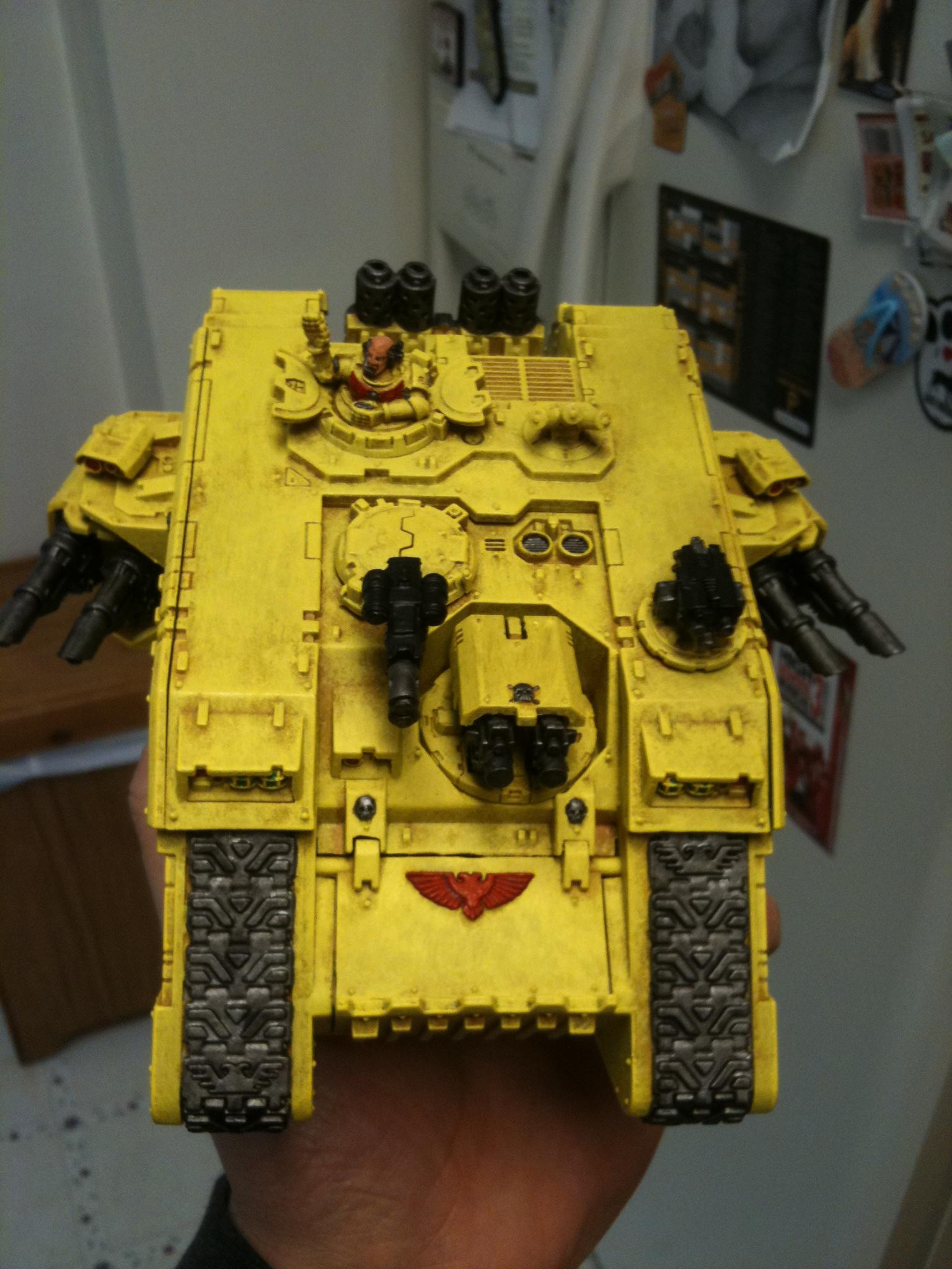 Imperial Fists, Land Raider, Space Marines