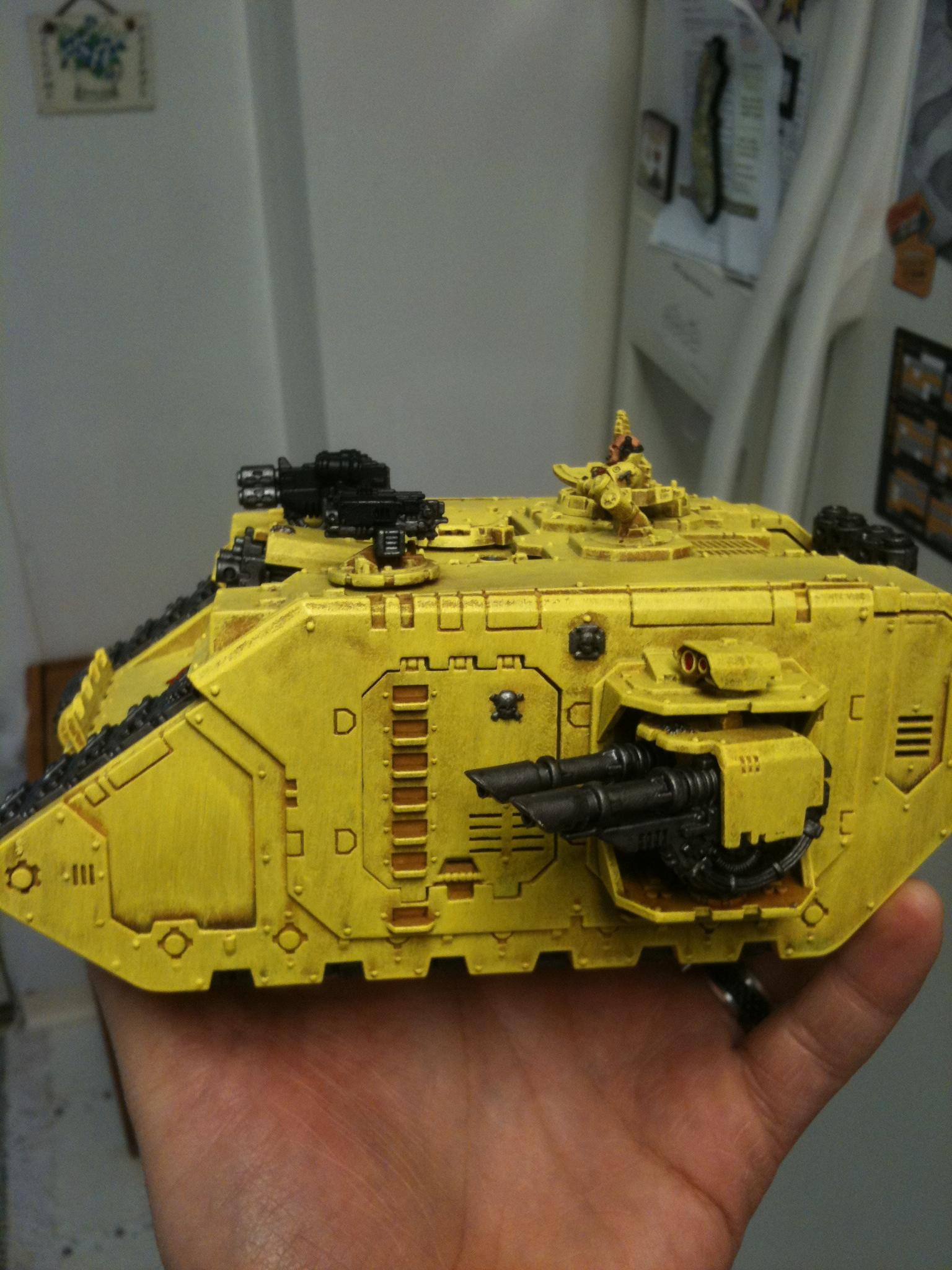 Land Raider, Tank, Warhammer 40,000, Work In Progress