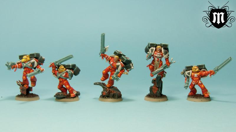 Assault Space Marines, Blood Angels