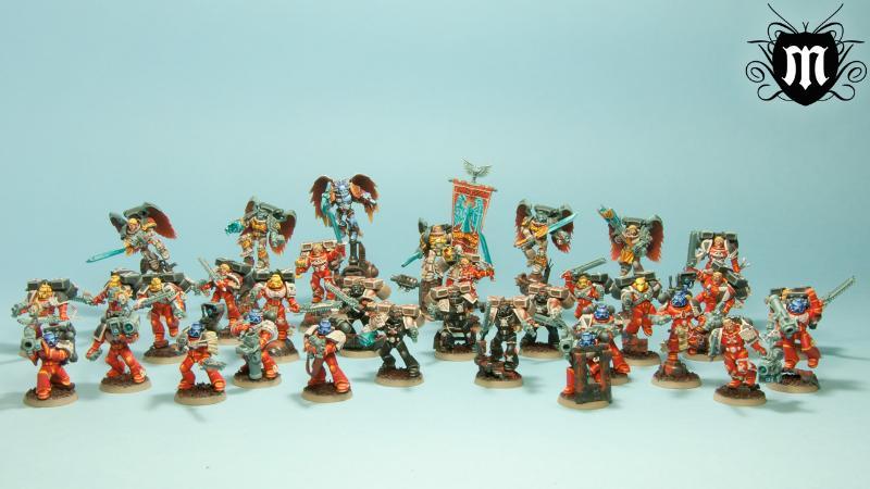 Blood Angels army
