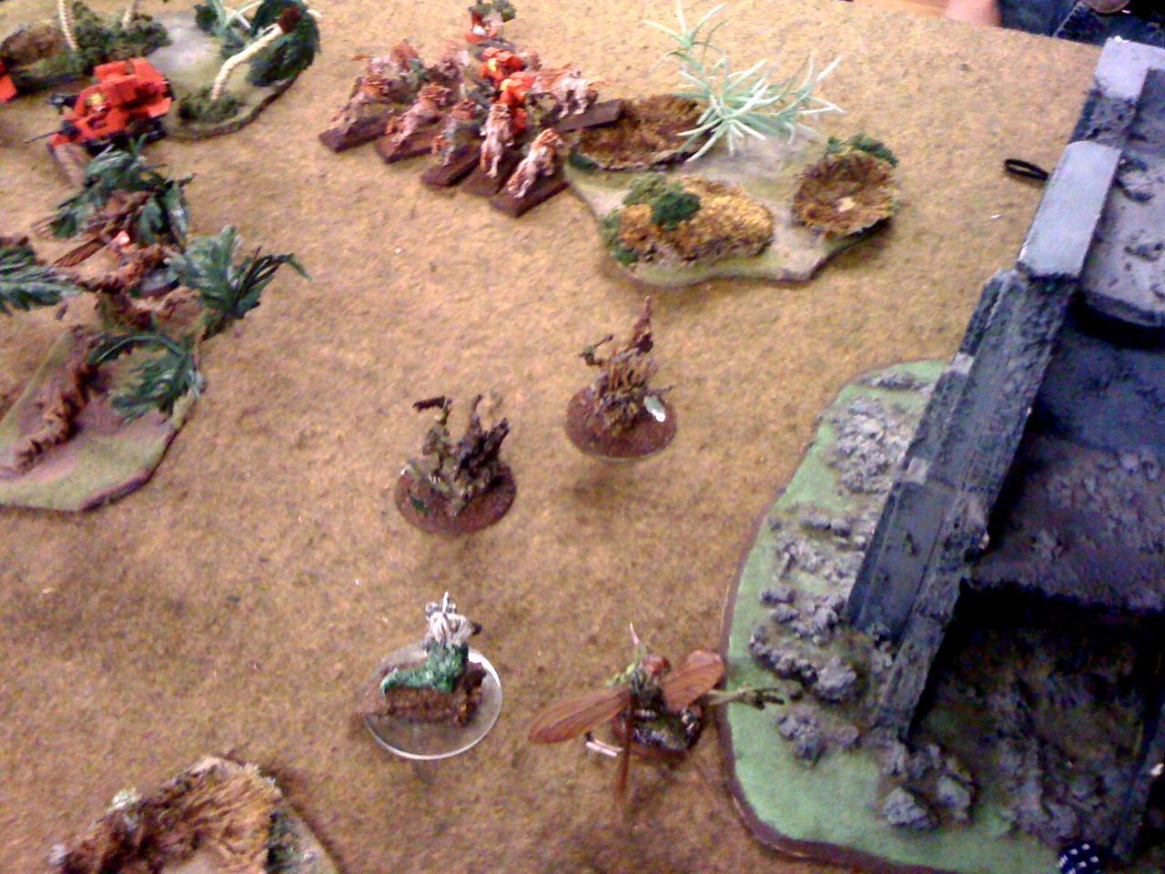 Battle Report, Blood Angels, Daemons