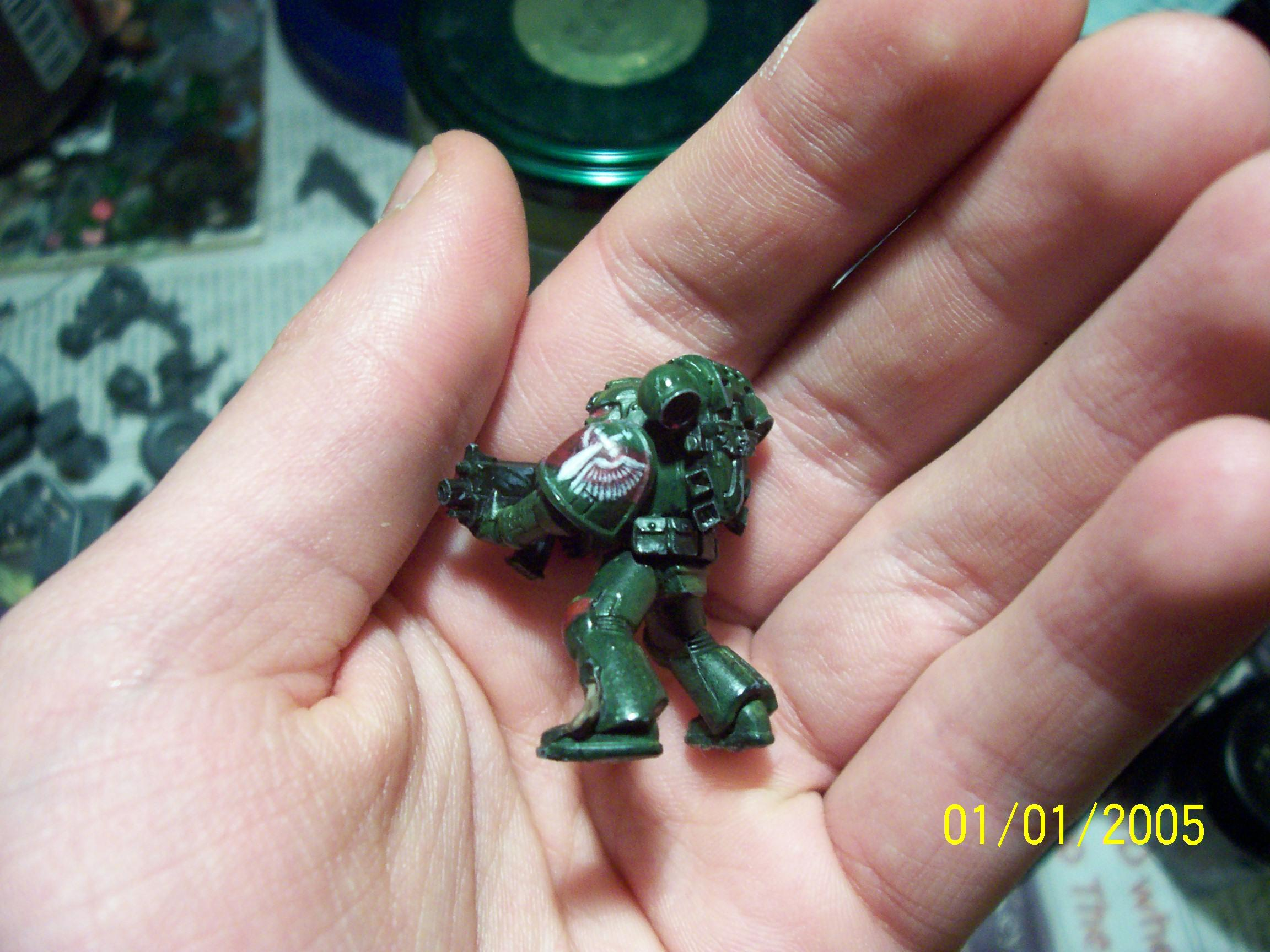 Dark Angels, Freehand, Icon, Space Marines, Tactical Squad