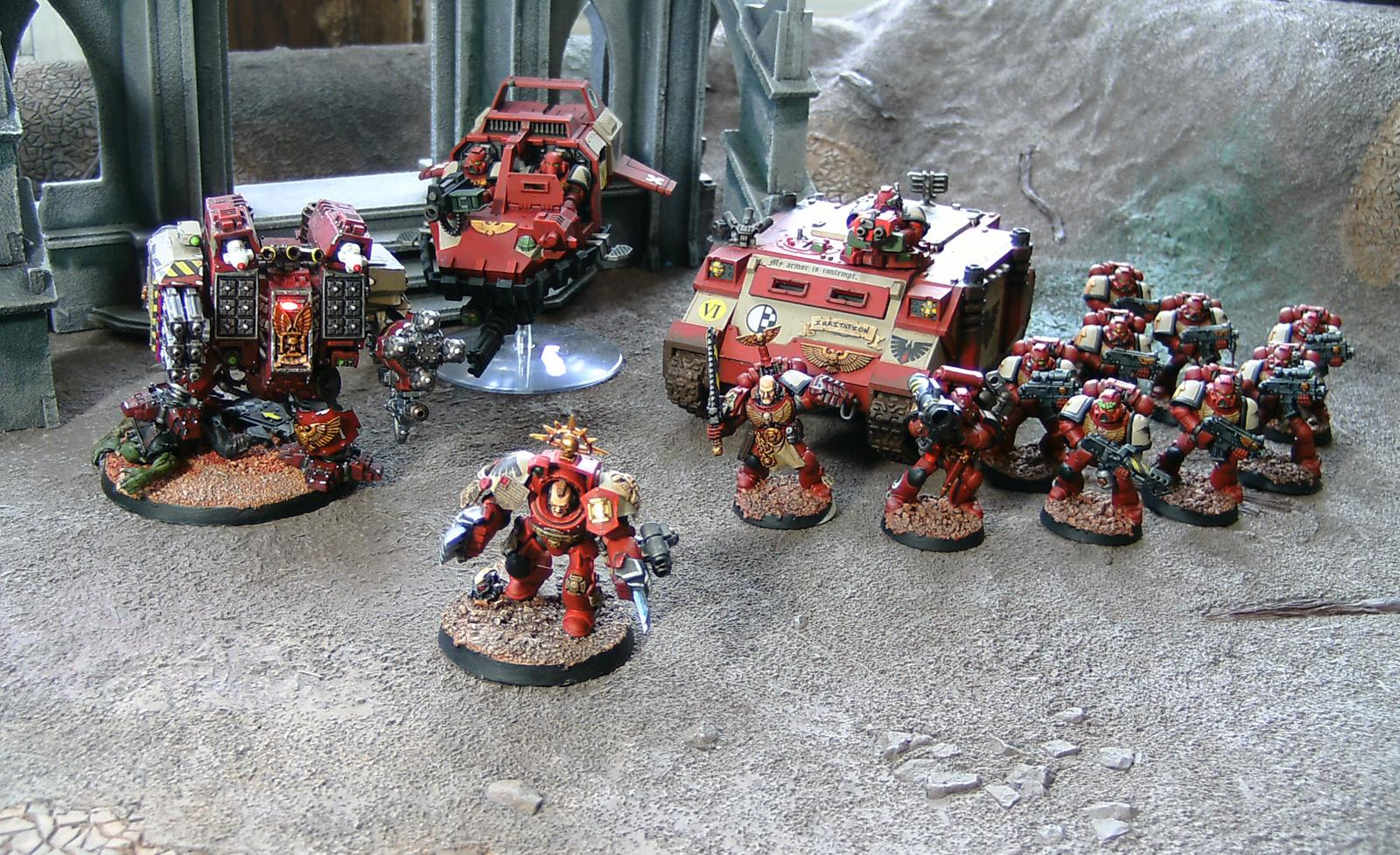 Blood Ravens, Ouze, Ultramarines, Warhammer 40,000