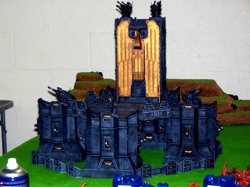 Bastion, Fortress, Landing Pad, Planet Strike, Shrine, Terrain