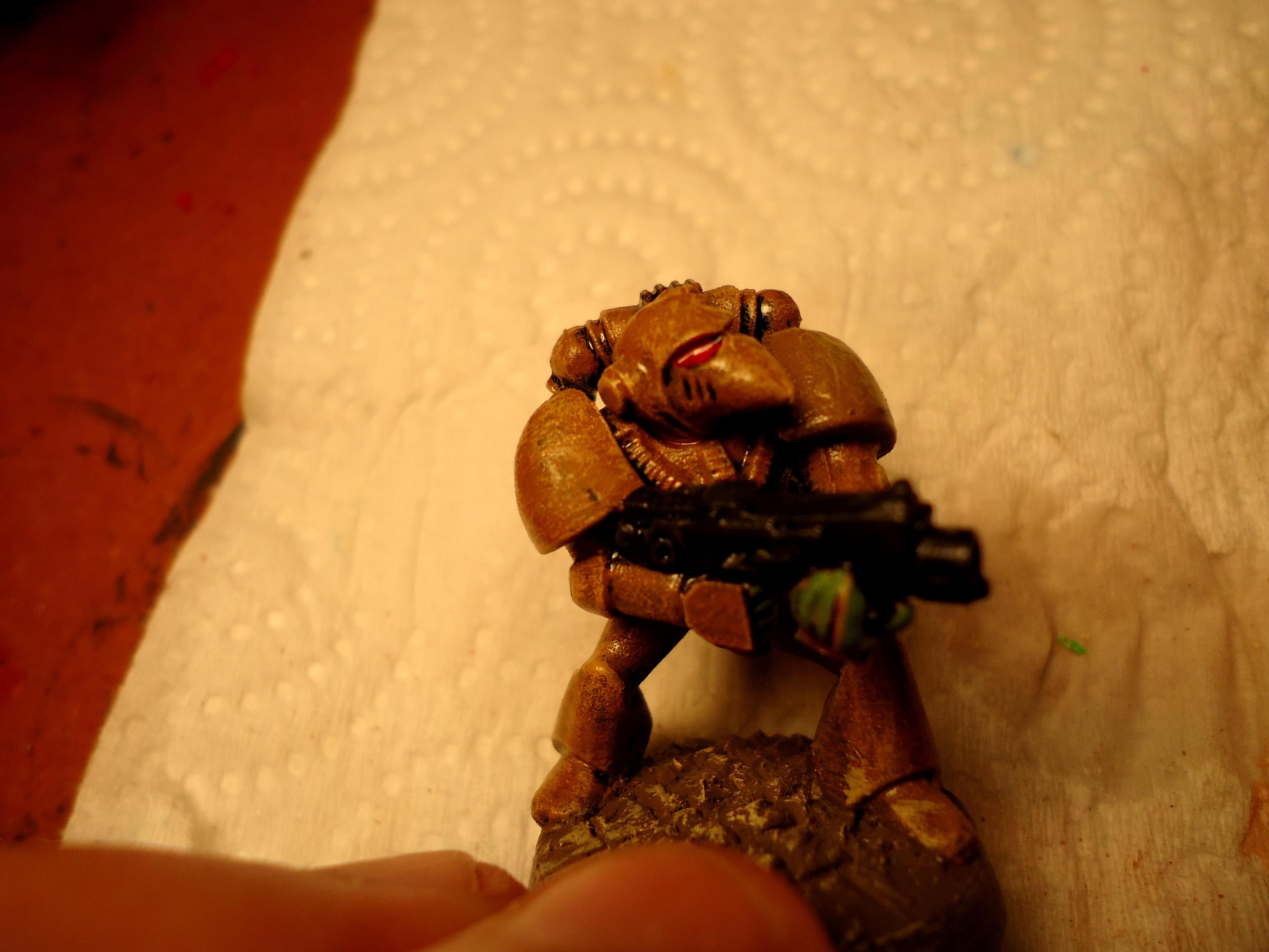 Dust Devil, Great Marine Swap, Space Marines