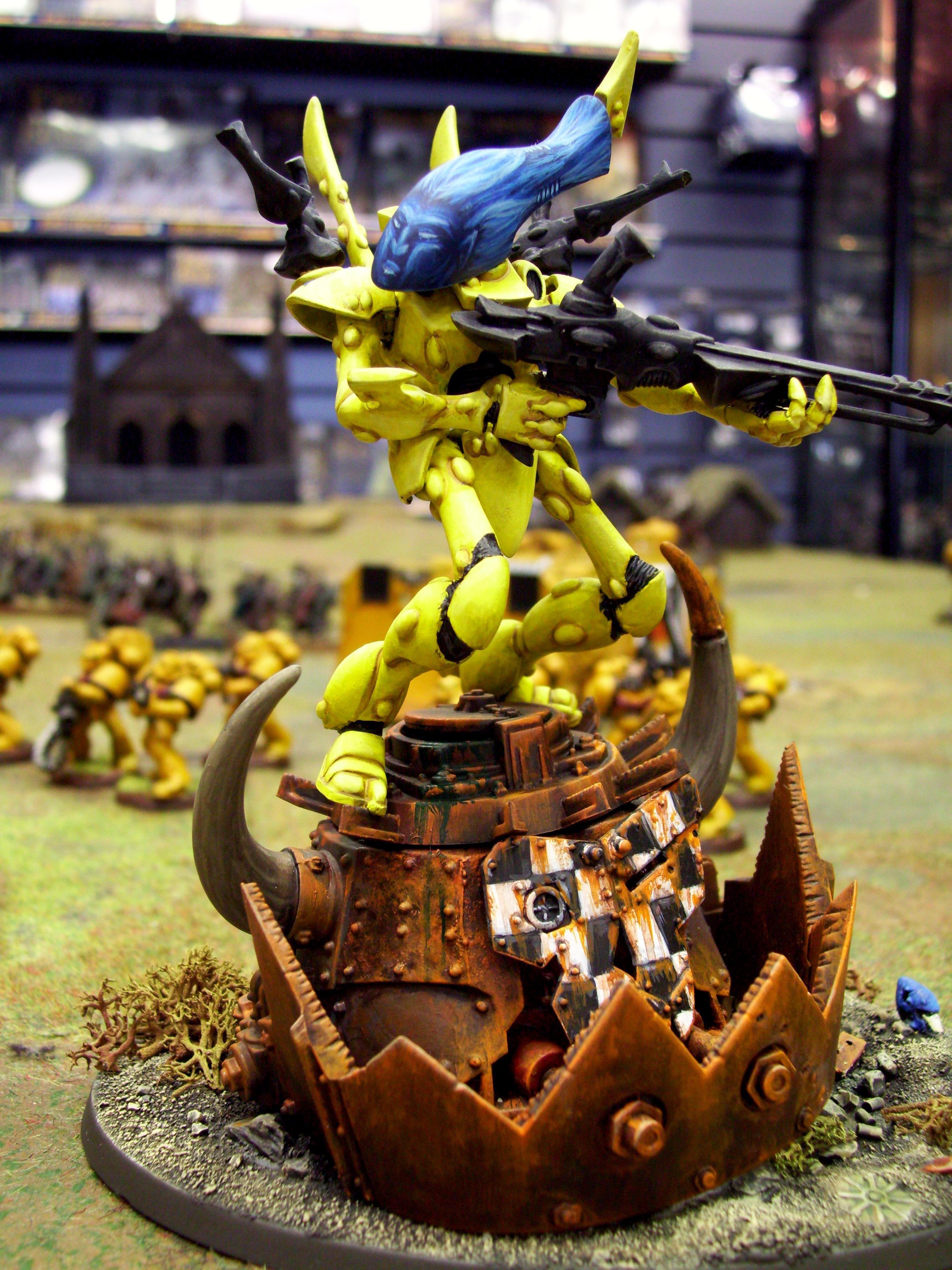 Eldar, Iyanden, Ork Abuse, Rust, Stompa, Wraithlord