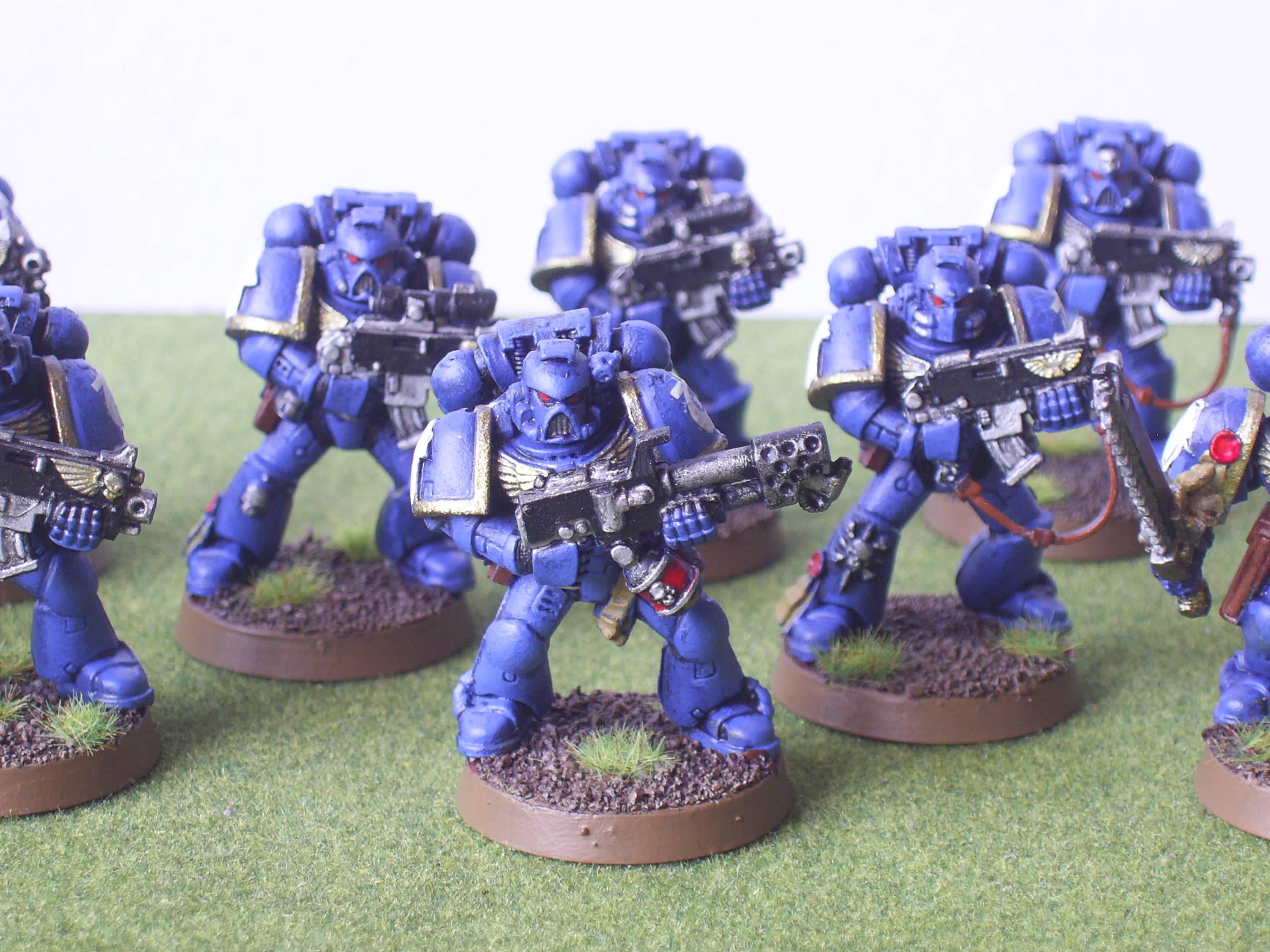Assault On Black Reach, Ultramarines