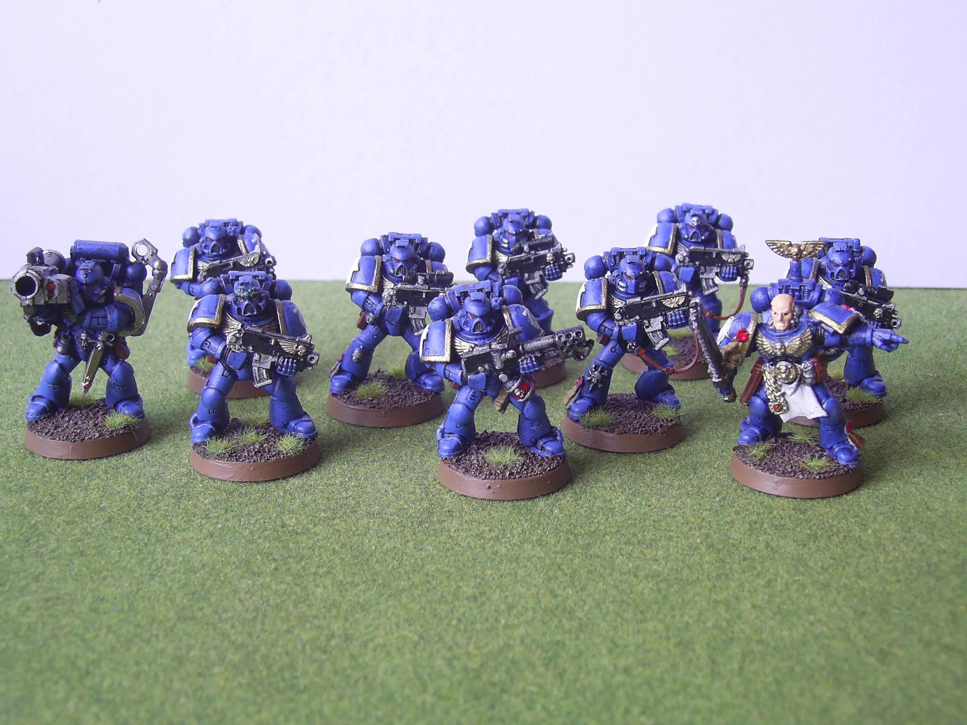 Assault On Black Reach, Ultramarines