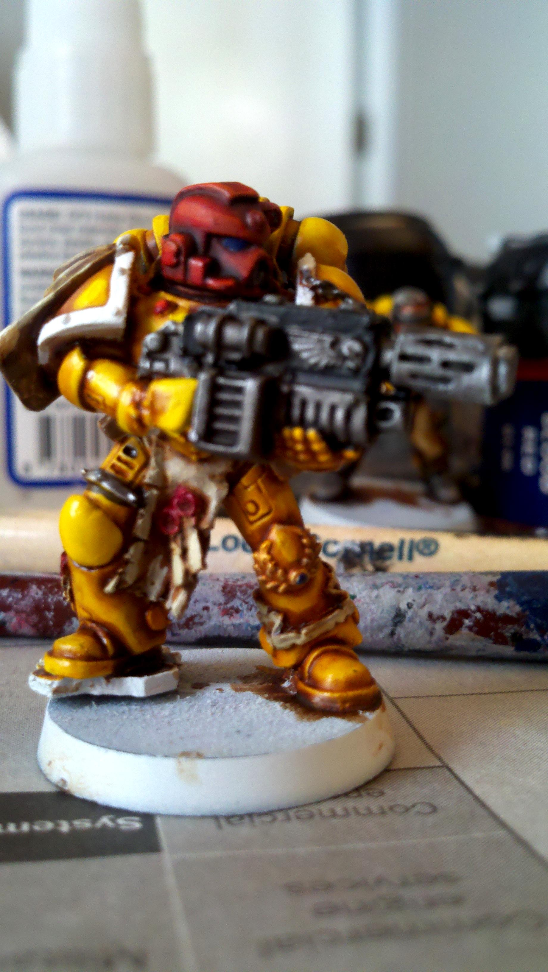 Imperial Fists, Space Marines, Warhammer 40,000