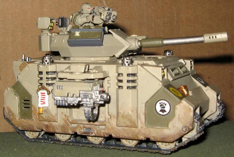 Desert Camo, Predator, Space Marines, Tank