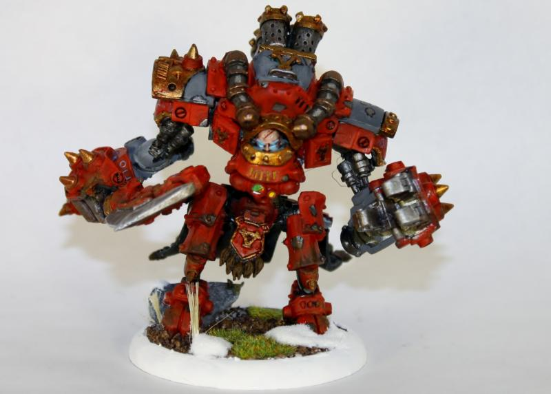 Khador, Warmachine, Karchev the Terrible