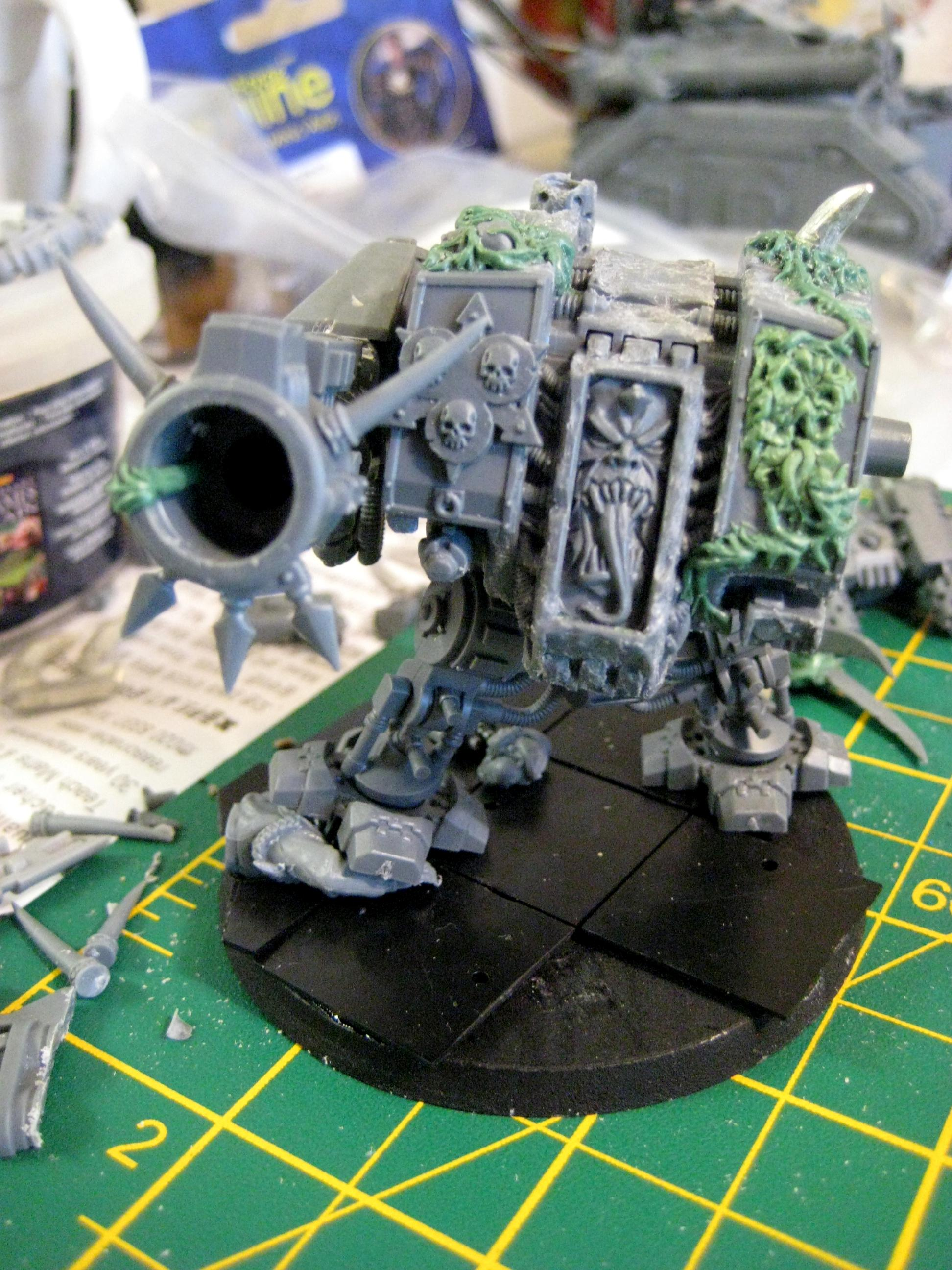 Battlefleet Gothic, Cannon, Chaos Dreadnought, Possessed