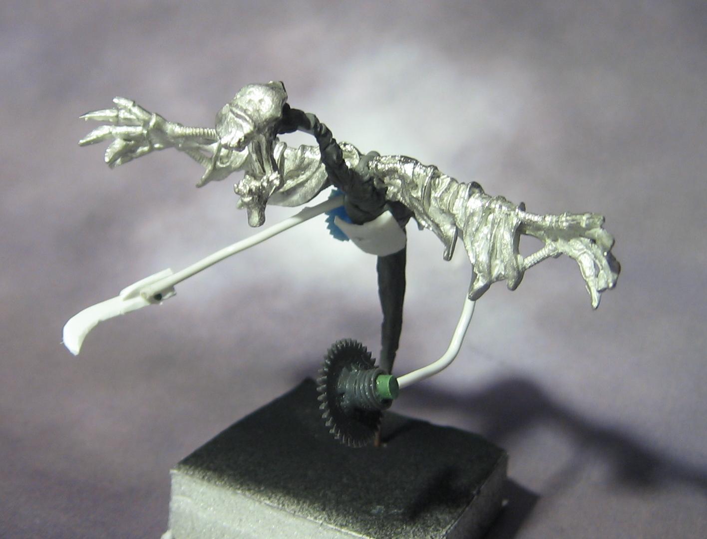 Cryx, Machine Wraith, Work In Progress