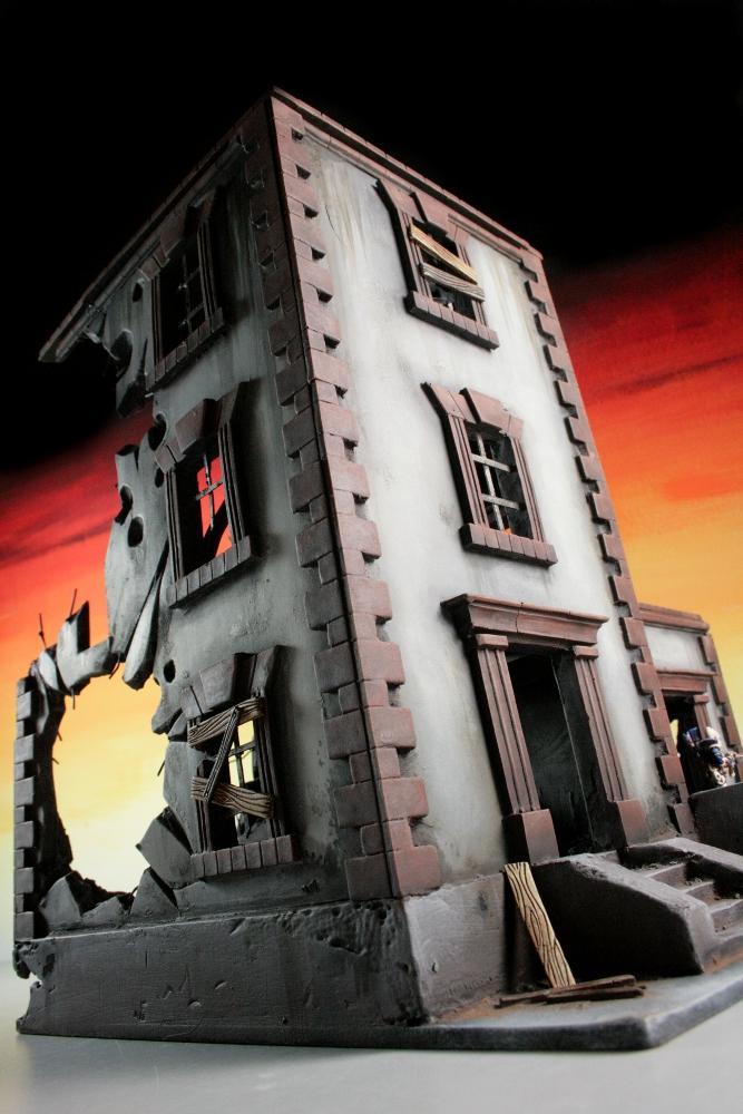 City, House, Scratch Build, Terrain, Urban