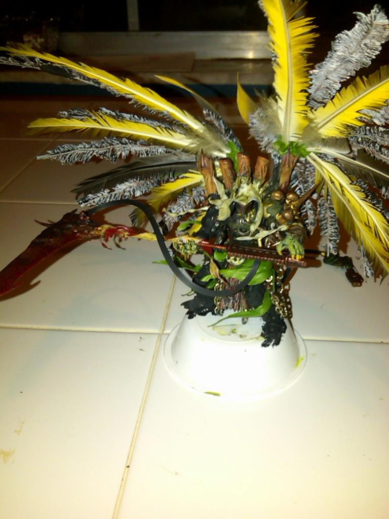Mortarion - Wings - Feathers
