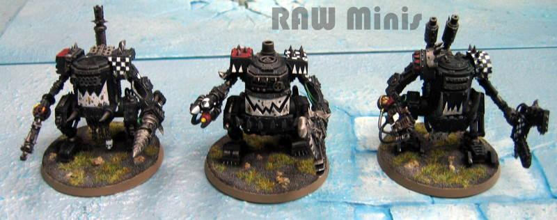 Dreadnought, Killa Kan, Killa Kans, Orks, Painting, Warhammer 40,000