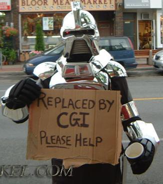 Battlestar Galactica, Cylon, Humor