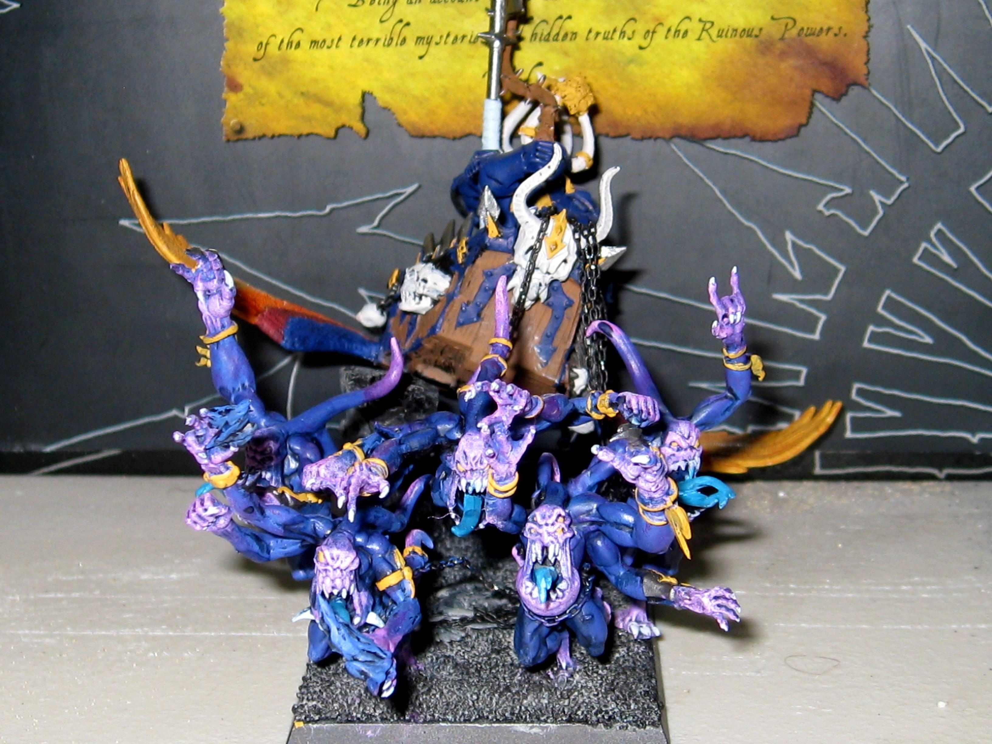 Chaos, Chariot, Tzeentch, Warriors