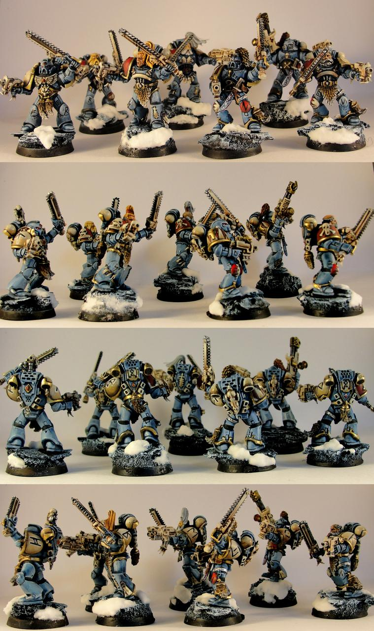 Blood Claws, Snow, Space Marines, Space Wolves, Wolves Of Russ