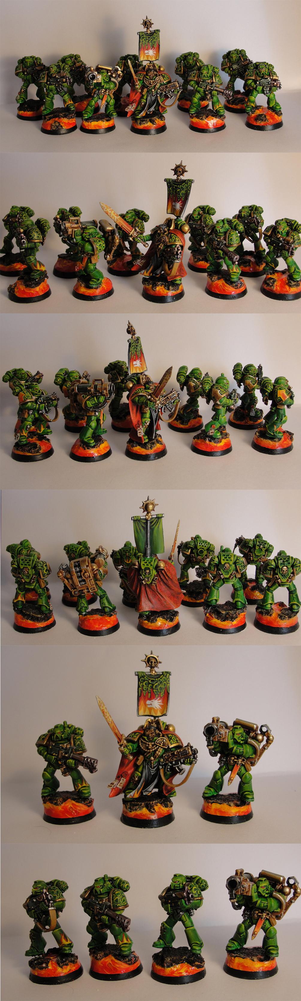 Salamanders, Space Marines, Tactical Space Marines