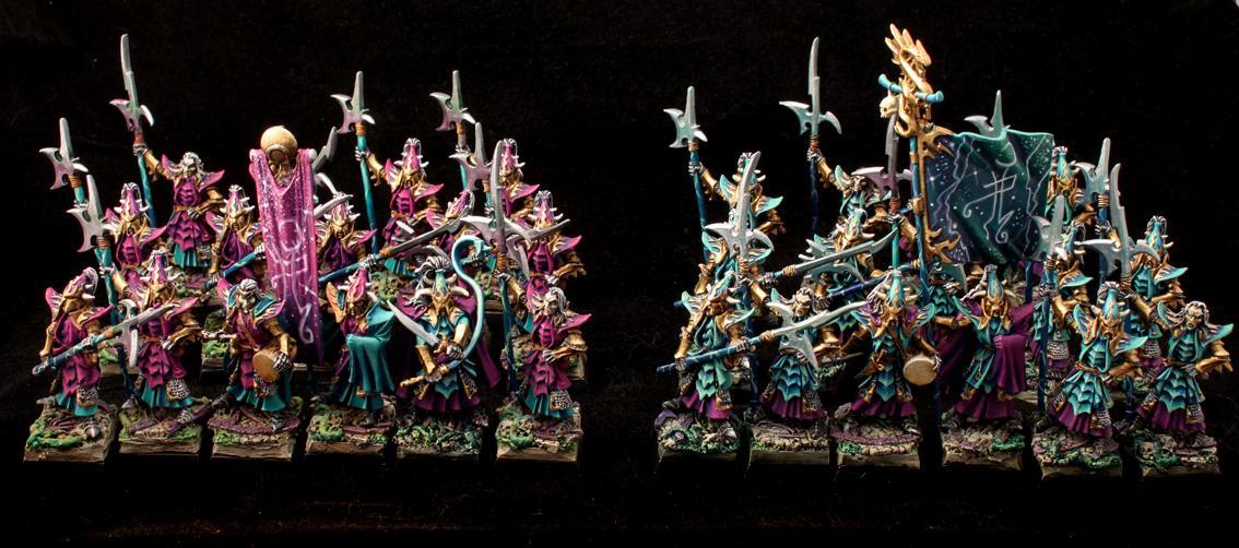 Black Guard, Dark Elves, Naggarond, Warhammer Fantasy