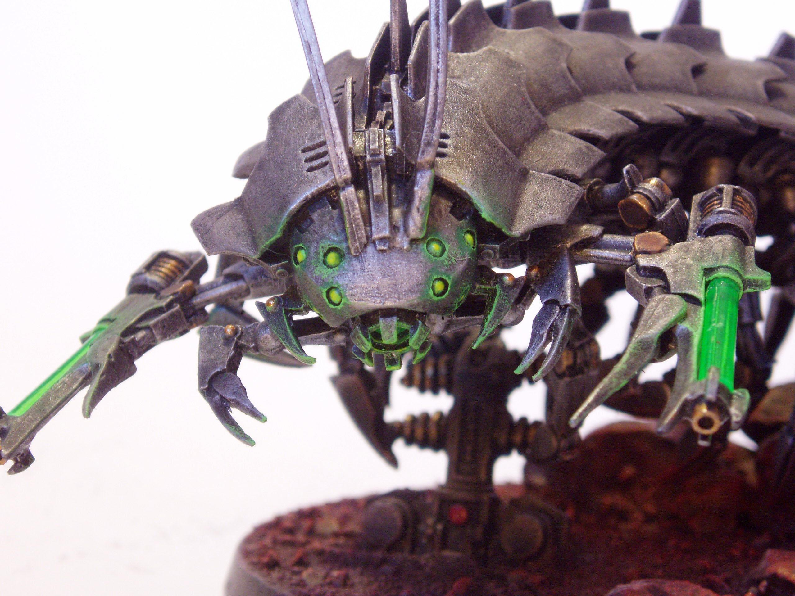 Necrons, Object Source Lighting, Tomb Stalker