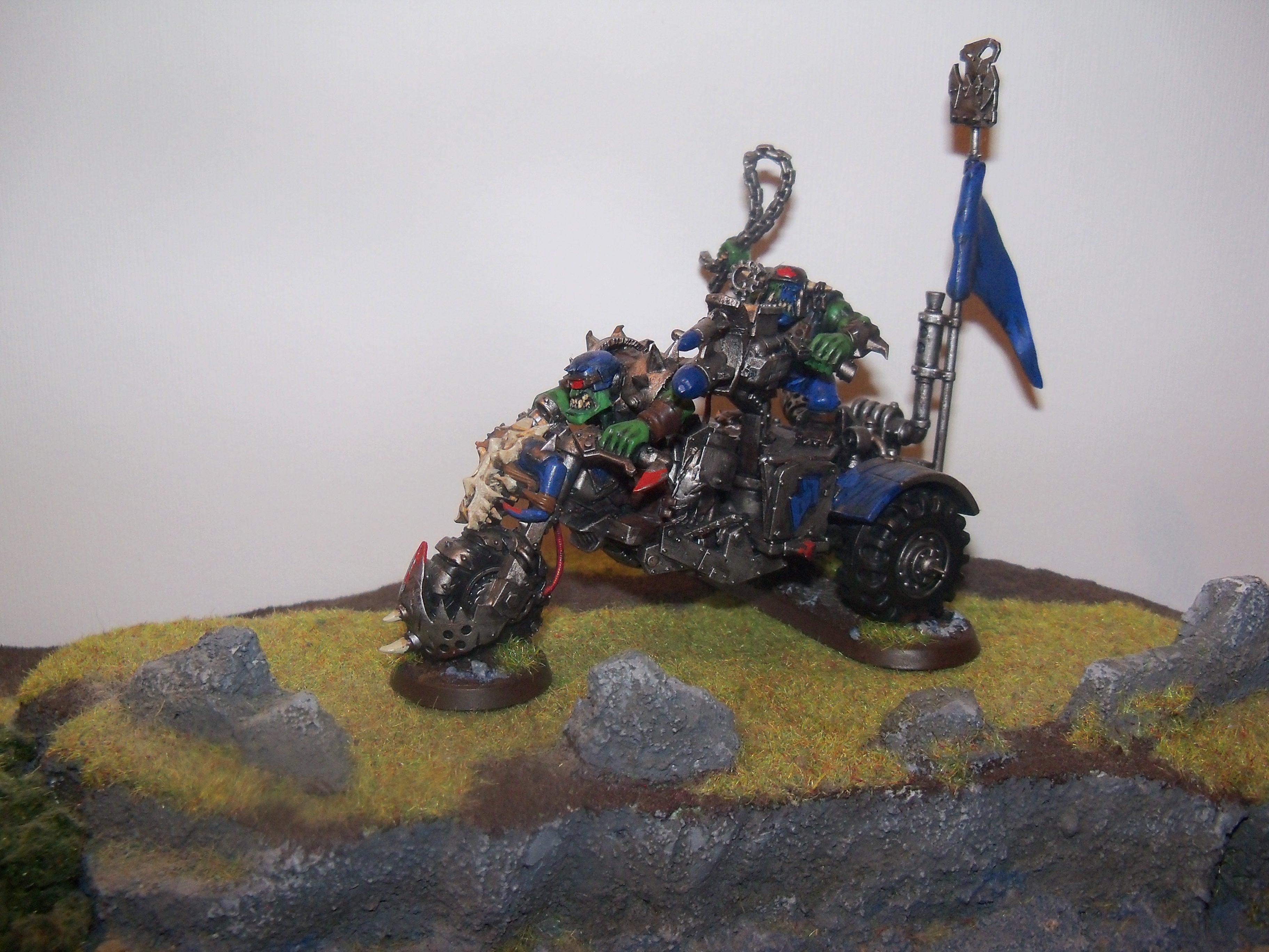 Conversion, Orks, Trike, Vehicle, Warbuggy, Warhammer 40,000