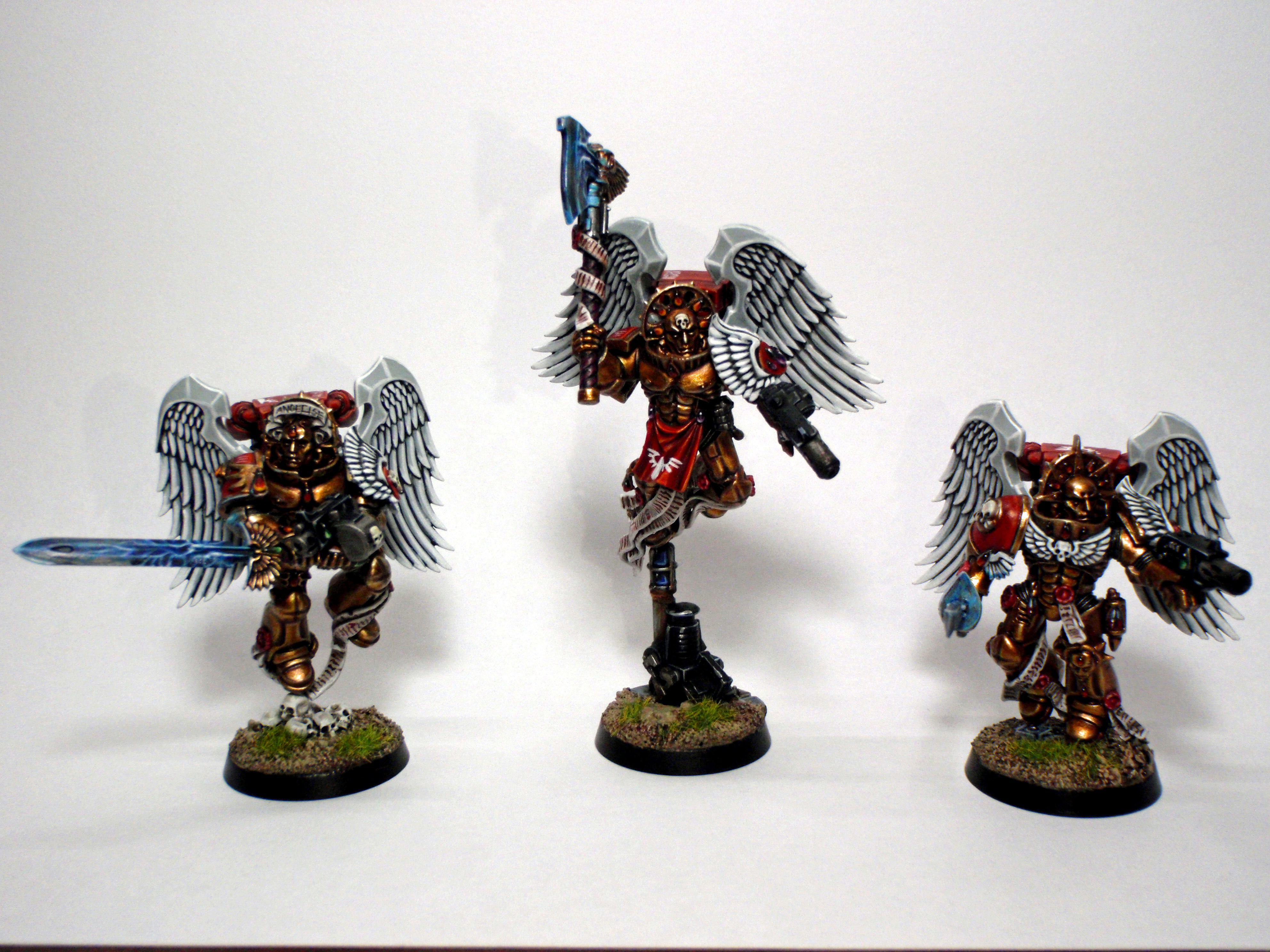 Blood Angels, Conversion, Object Source, Sanguinary Guard, Space Marines