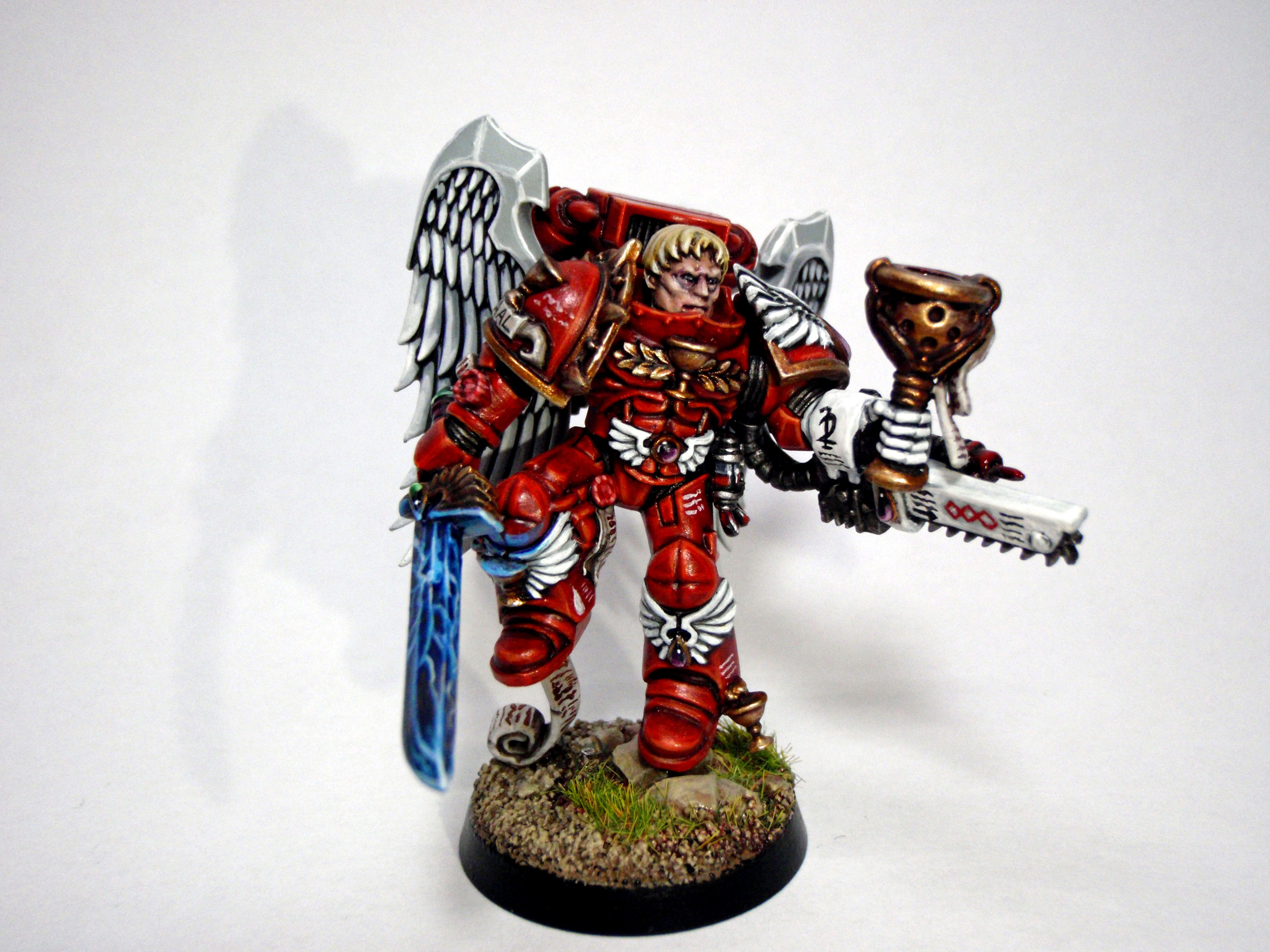 Blood Angels, Conversion, Object Source, Sanguinary Priest, Space Marines