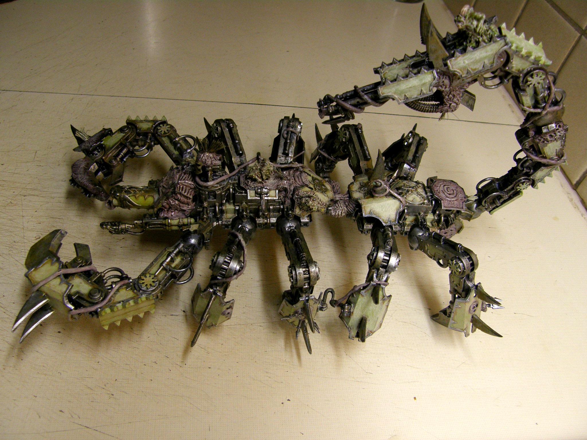 Defiler, Nurgle, Scorpion