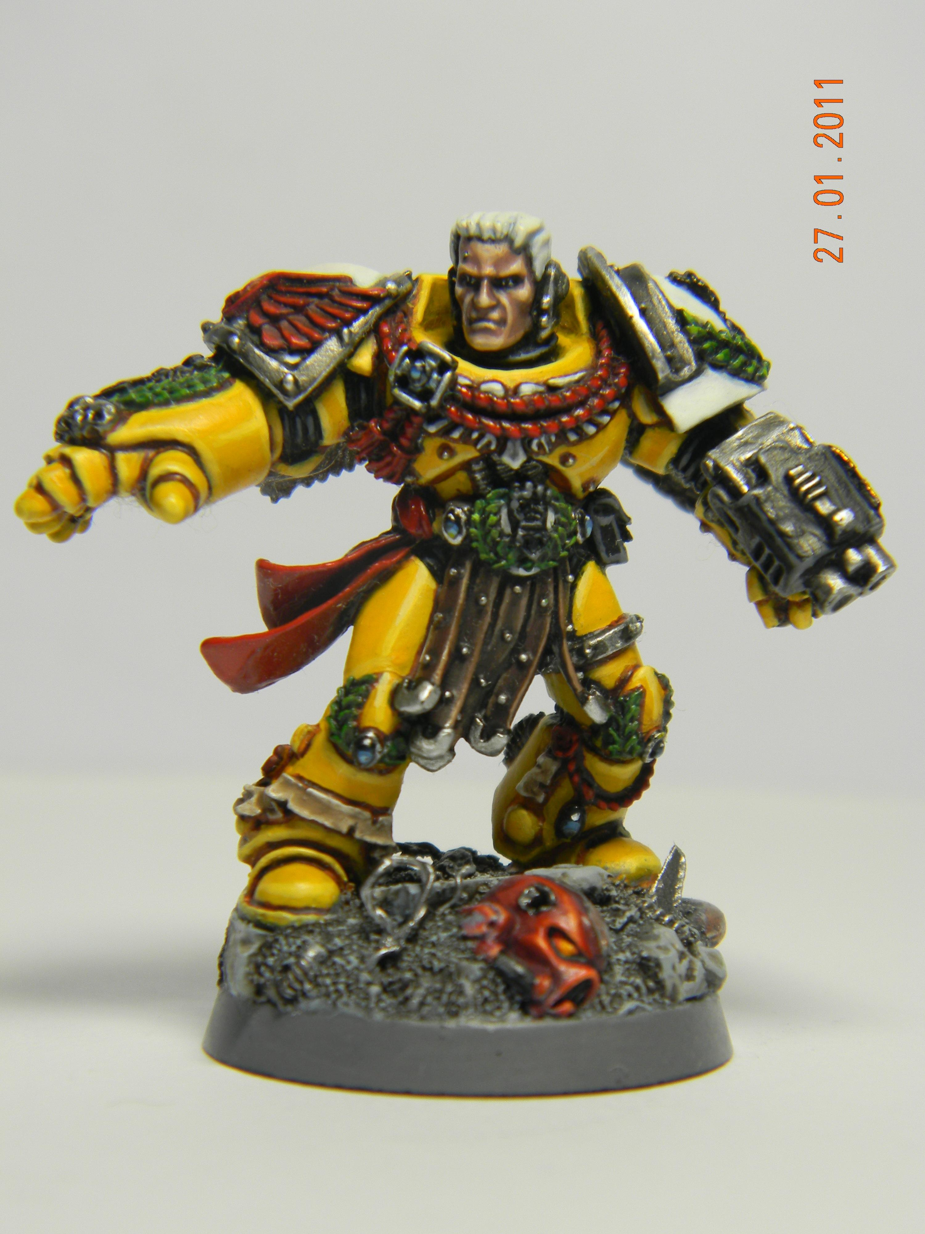 Captain, Imperial Fists, Pedro Kantor, Space Marines