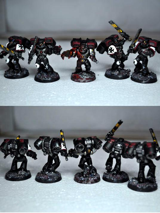 Assault Squad, Black Templars, Space Marines