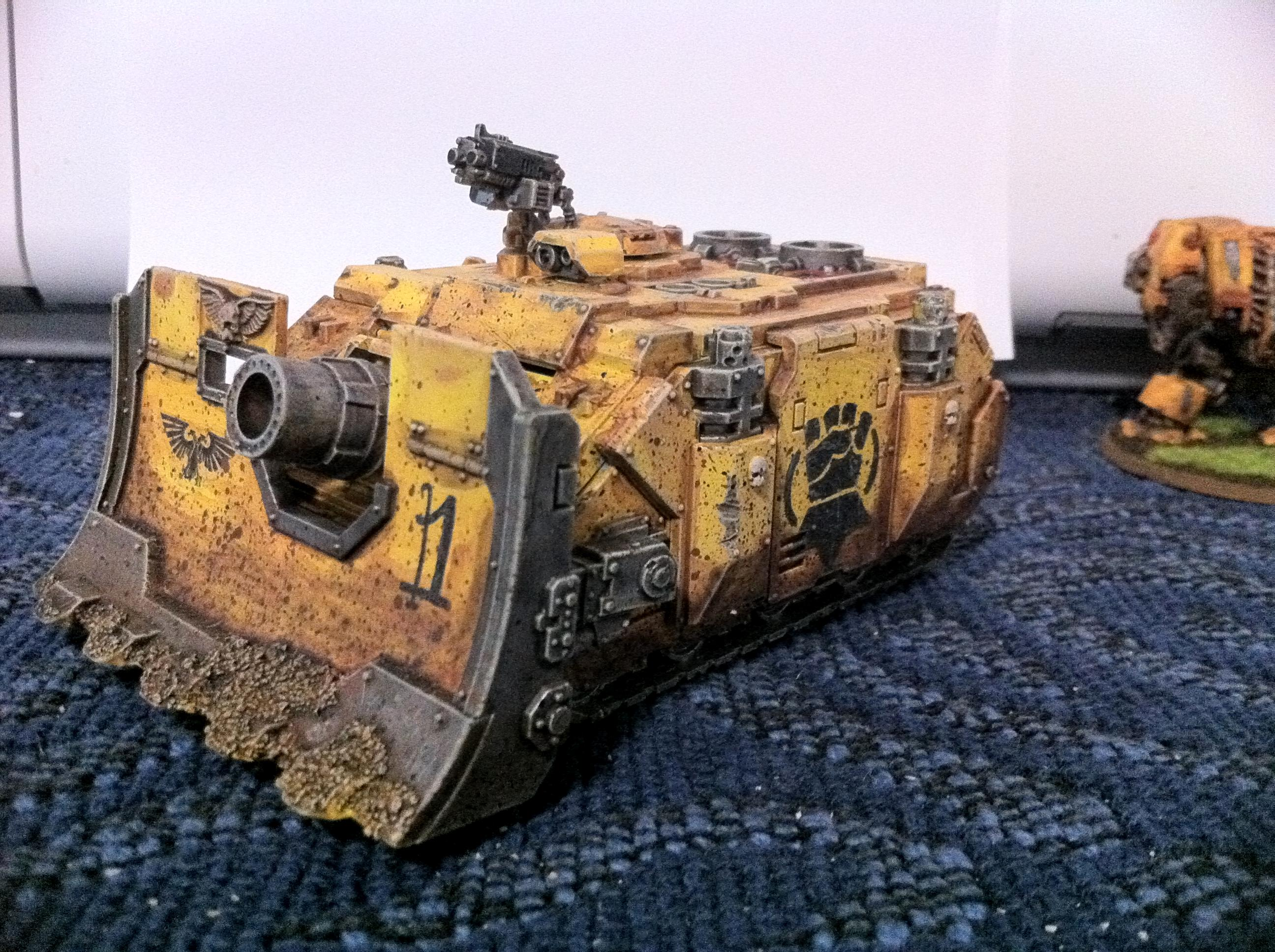 Heavy Support, Imperial Fists, Space Marines, Tank, Vindicator