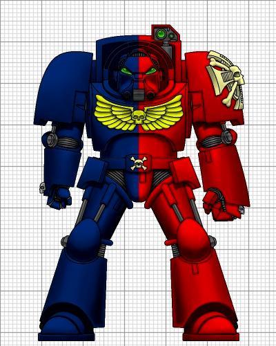 Knights, Redemption, Space Marines, Terminator Armor