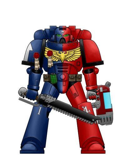 Knights, Power Armour, Redemption, Sergeant Bren, Space Marines