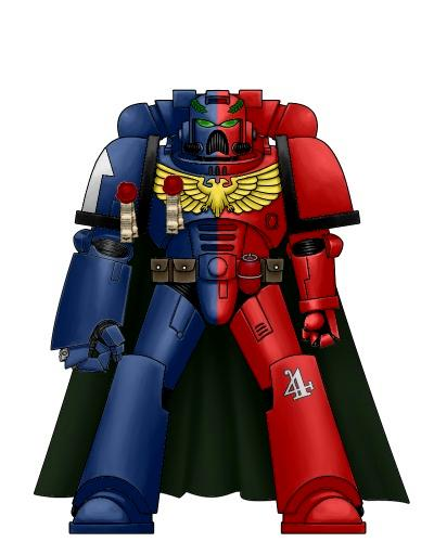 Captain, Knights, Power Armour, Redemption, Space Marines