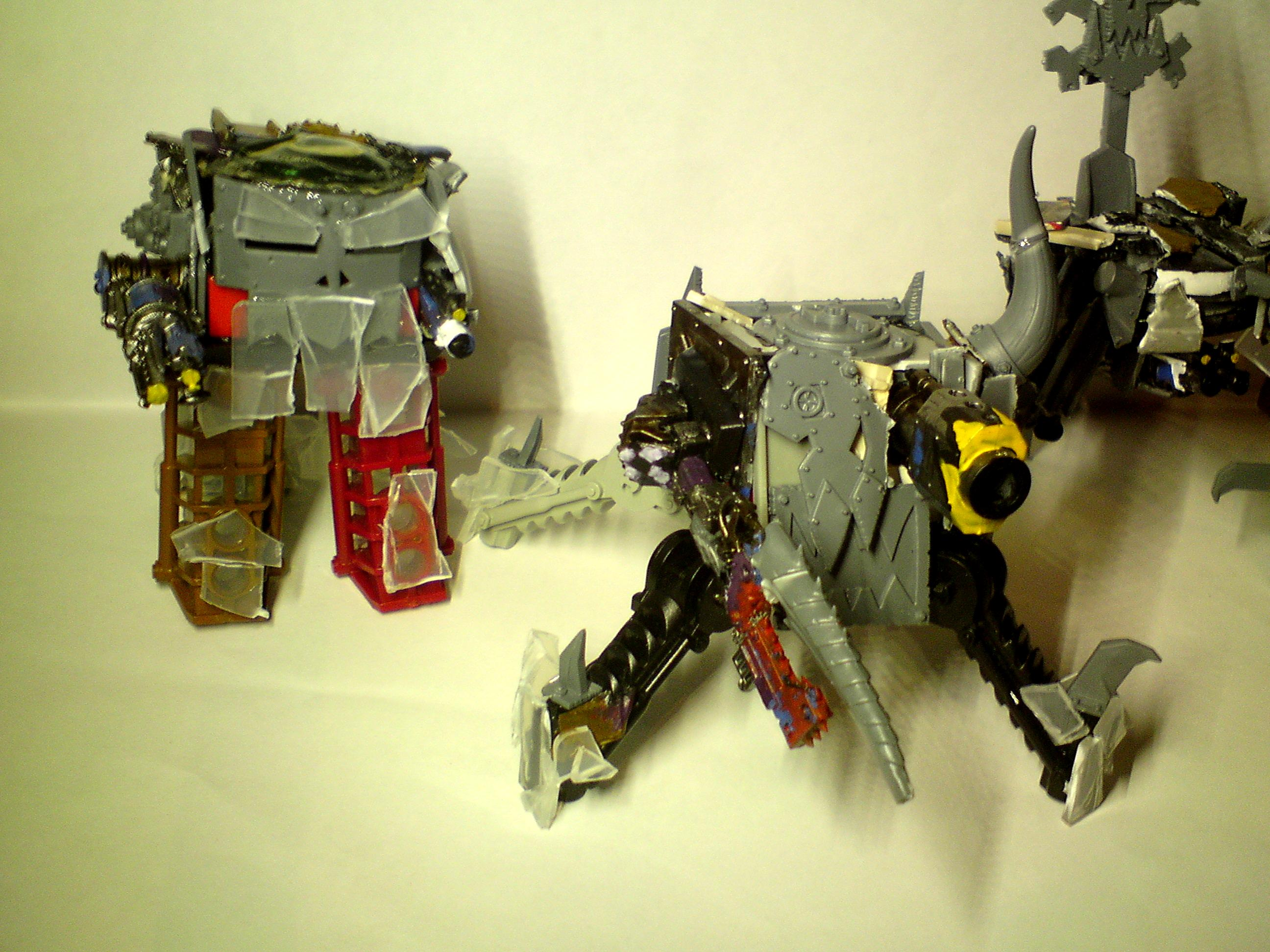 Conversion, Deff Dread, Killa Cans, Killa Kans, Killakans, Orks, Scratch Build