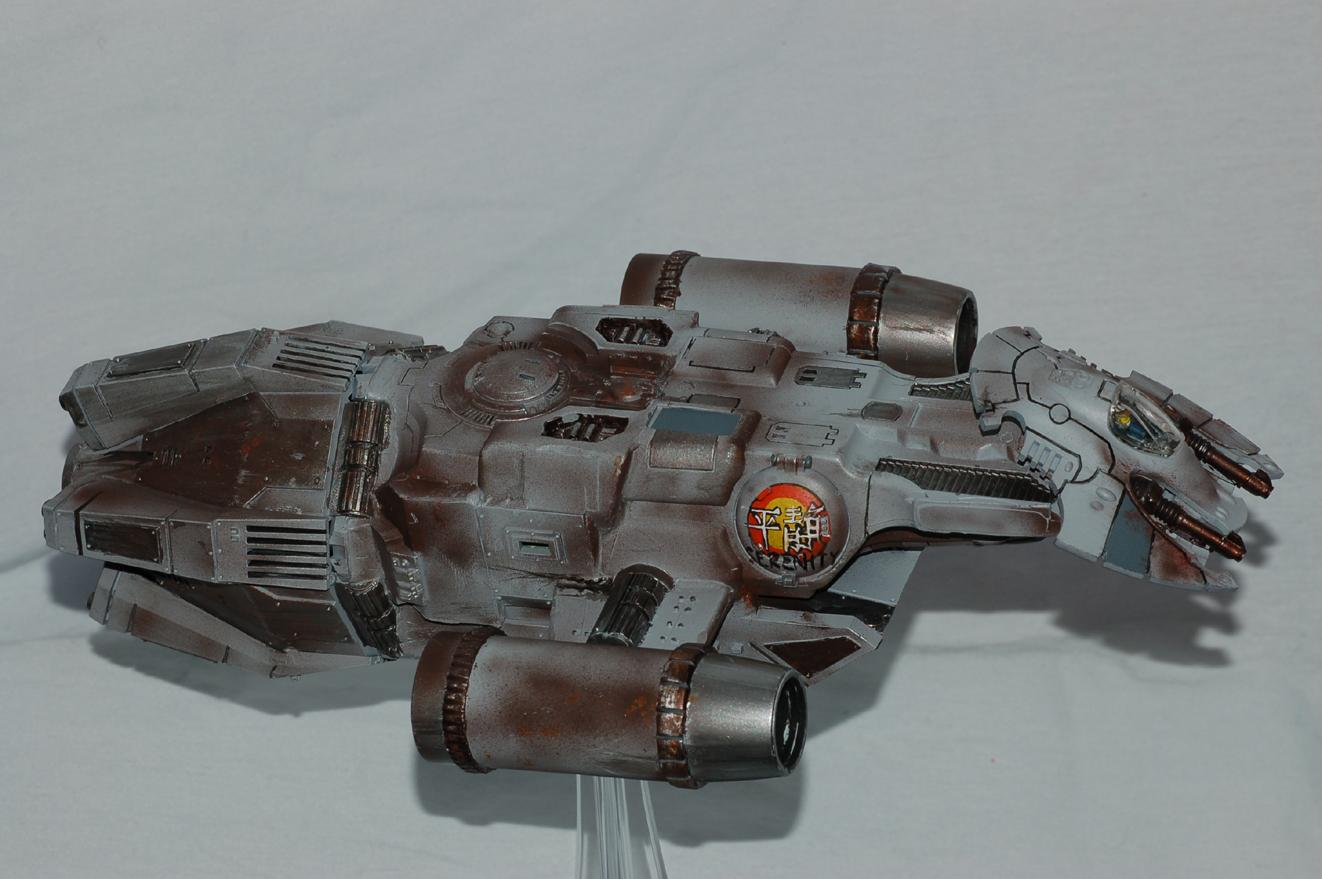 Devilfish, Drop Ship, Firefly, Flyer, Imperial Guard, Scratch Build, Serenity, Valkyrie, Wave Serpent